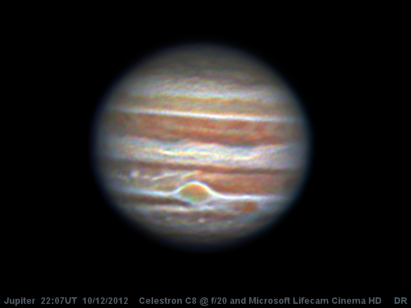 Jupiter with Lifecam