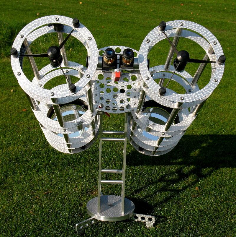 Telescope making for Kelling designs